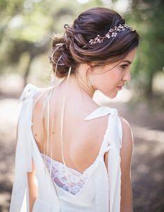 Peinados para novias   bodatotal.com    wedding ideas, bride, hairstyle