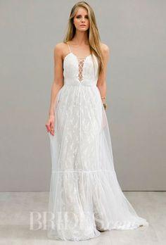 Vestido de Noiva Soltinho | Inspirações .