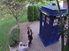 """This redditor and fan of BBC series """"Doctor Who"""" figured out the perfect way to propose to his girlfriend. Of course, she said yes."""
