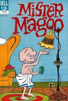 umblogemquadrinhos:  Mister Magoo, Dell Comics