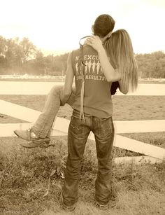 Sweet country love cute couples outdoors country boots