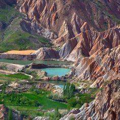 "The stunning nature of ""Hesar-e Bozhan"", Neyshabur, Khorasan Razavi Province, Iran"