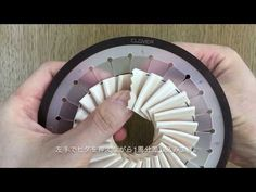 【ウェディングDIY!ロゼットを作ってみよう!】リボンのヒダヒダの作り方②!#28(後半) - YouTube Paper Rosettes, Ribbon Rosettes, Diy Ribbon, Ribbon Work, Fancy Bows, Diy And Crafts, Paper Crafts, Paper Ornaments, Passementerie