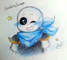 [Underswap fanart] Blueberry by Neko-Priestess327.deviantart.com on @DeviantArt