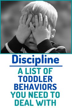 You may be surprised to find out that YOU the parent could be the reason your toddler's behavior is a problem. Boundaries and discipline are important. Here is a list of common toddler behavior problems and how to make a plan! #toddler #toddlerdiscipline #toddlerbehavior #discipline #behaviorproblem Toddler Behavior, Toddler Age, Toddler Discipline, Parenting Toddlers, Kids And Parenting, Parenting Hacks, Behavioral Issues, Toddler Lunches, Terrible Twos