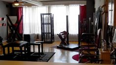 bondage bed dungeon furniture bdsm furniture decor pinterest