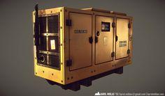 Power Generator on Behance