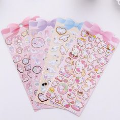 Cheap stickers scrapbooking, Buy Quality stickers stickers directly from China stickers decorative scrapbook Suppliers: Gilding Cinnamoroll Kitty Melody Twin Star Decorative Washi Stickers Scrapbooking Stick Label Diary Stationery Album Stickers