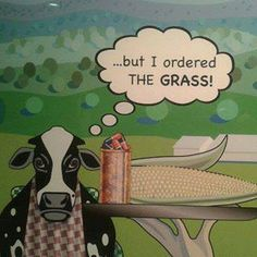 ...but I ordered the grass! ;(