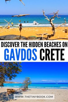 On the south coast of Crete, Greece, there's a fantastic island at the end of the European continent, it's called Gavdos and here are all the secrets for you to organize a visit. Chania Crete Greece   Gavdos Island   Gavdos Crete   Things to do in Crete   Things to do in Greece   Holidays in Crete Travel Europe Cheap, Europe Travel Guide, Europe Destinations, European Travel, Greece Holidays, Best Travel Guides, Hidden Beach, Southern Europe, Crete Greece