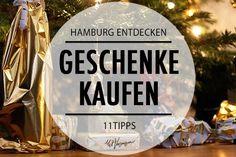 Geschenke kaufen zur Weihnachtszeit: 11 coole Geschenkläden in Hamburg in denen ihr mal stöbern solltet.