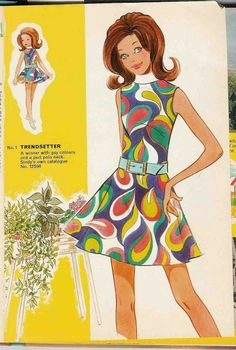Free Copy of Pattern - Sindy Fashions