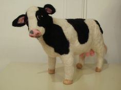 Any Large Animal Sculpture Custom Made Just for You...Miss Maisy the Cow. $325.00, via Etsy.