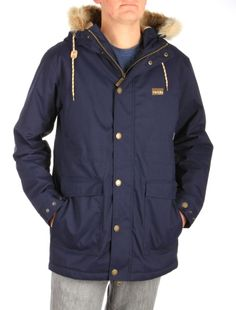 CITY ARCTIC PARKA // IRIEDAILY Jackets Men // FALL/WINTER 2014: http://www.iriedaily.de/men-id/men-jackets/ #iriedaily