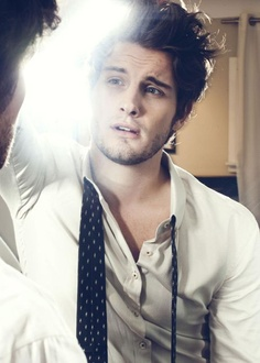 Nico Tortorella from The Following. clothes and hair. My husband needs to do this on our wedding day!