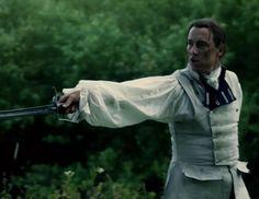 "Black Jack Randall (Tobias Menzies) in Episode 206 ""Best Laid Schemes"" of Outlander Season Two on Starz via https://outlander-online.com/"