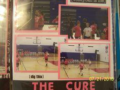DD Volleyball book - Scrapbook.com