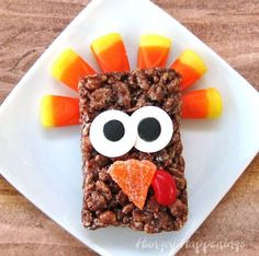 Thanksgiving is meant to be spent together, with loved ones, but it's not always easy to include the littlest members of your crew in the complex to-dos of turkey day. Luckily, we've scoured the internet for some delicious recipes, easy decorations, and helpful chores your kids can do on their own or you can do as a family to get ready for the Thanksgiving feast! Visit our blog for awesome ideas! #thanksgiving #thanksgivingdinner #familyaffair #momblog #kidsactivities #thanksgivingmealprep Cereal Treats, Rice Krispie Treats, Cute Desserts, Dessert Recipes, Fall Recipes, Holiday Recipes, Cocoa Krispies, Thanksgiving Desserts, Holiday Desserts