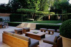 luciano giubbilei landscape design - Cerca con Google Stupendo e accogliente salotto all'aperto.