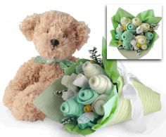 6000 blue personalized baby monkey gift basket toronto canada the bear bouquet gift basket green negle Gallery