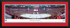 Washington Capitals Panoramic - Verizon Center Picture - Deluxe Frame $199.95