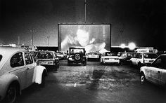 Drive In movie theaters.