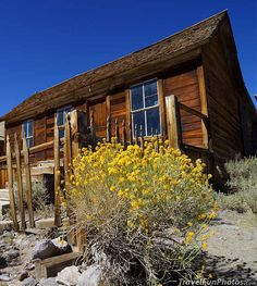 Spooky Ol' House - Ghost Town of Bodie, California – USA