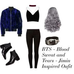 BTS - Blood, Sweat, and Tears - Jimin Inspired Outfit #BTS #Jimin #Kpop