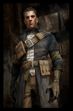 Daud and the Parabola of Lost Seasons - Pictures & Characters Art - Dishonored