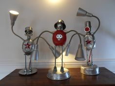 lamps robots assemblage