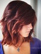 Choppy, Layers Medium Length Hair Styles