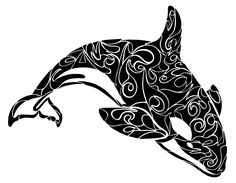 Images For > Native American Orca Tattoos
