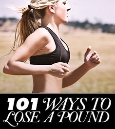 101 Ways to Lose a Pound | Daily Makeover