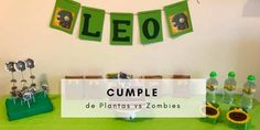 Cumple Plantas vs Zombies Age Of Empires, Plantar, Ideas Para, Dinosaur Eggs, Kids Reading, Bonbon, Calla Lilies