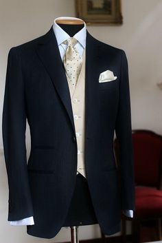 New Wedding Suits Men Grey Ideas Blue Ties 60 Ideas Groom Outfit, Groom Attire, Groom Suits, Sharp Dressed Man, Well Dressed Men, Mens Fashion Suits, Mens Suits, Dark Blue Suit, Blue Suits