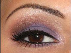 lavender and bronze