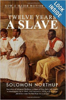Twelve Years a Slave by Solomon Northup is a memoir of a black man who was born free in New York state but kidnapped, sold into slavery and kept in bondage for 12 years in Louisiana before the American Civil War. He provided details of slave markets in Washington, DC, as well as describing at length cotton cultivation on major plantations in Louisiana.