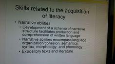 AcquisitionofLiteracy
