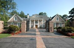 Gated house