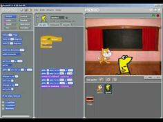 """Scratch Animation - How to change backgrounds using """"broadcast"""" - YouTube"""