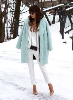 Mint coat. I. Want. It. Now.
