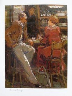 Meeting by Adriaan Boshoff - Limited Edition Print Limited Edition Prints, African, Paintings, Artist, Artwork, Work Of Art, Paint, Auguste Rodin Artwork, Painting Art