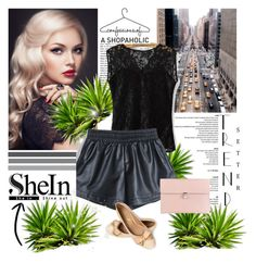 """""""NEW SHEIN CONTEST"""" by majagirls ❤ liked on Polyvore featuring Paul Frank, Alexander McQueen, women's clothing, women, female, woman, misses, juniors and shein"""