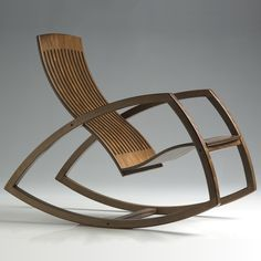 Gaivota Rocking chair by Renaud Bonzon, made in Brazil