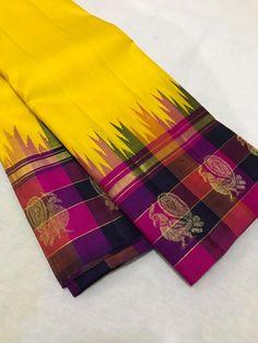 Pure kanchi korvai silk saree Whatapp Pure kanchi korvai silk saree Whatapp Source by