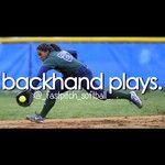 Backhand plays!