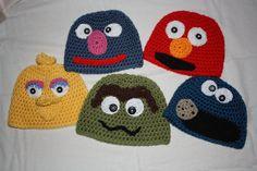 Sesame Street hats
