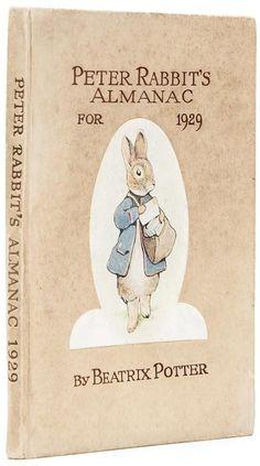 Potter (Beatrix) Peter Rabbit's Almanac for 1929 : Lot 83