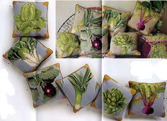Faffe Fassett's Vegetable Series- Needlepoint