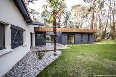 Extension d'une villa à Hossegor (40) - Work House Architecture - Menuiseries aluminium: LABASTERE 40